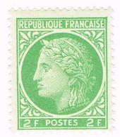 France, N° 680 - Cérès De Mazelin - Unused Stamps
