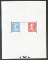 Boloc Feuillet Y & T N° 2*, Neuf**, Neuf Sans Trace De Charnière, MNH - Nuovi