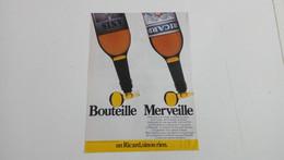 Bouteille De Ricard-Publicité De Presse De 1984 - Advertising