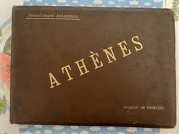 GRECE ATHENES ALBUM PHOTO DES FRERES RHOMAIDES PINACOTHEQUE HELLENIQUE TOUT EN PHOTOGRAPHIE XIX Eme SIECLE - Sin Clasificación