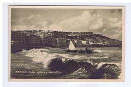 ITALIE - NAPOLI - Mare Agitato A Margellina ( N° 1015 ) - Napoli (Naples)
