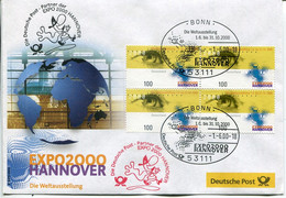 Germany Special Cover - Hannover World Trade Fair EXPO - 2000 – Hannover (Germania)