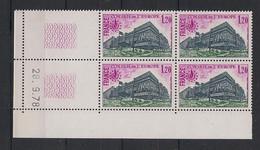 France - 1978 - Service N°Yv. 58 - Bloc De 4 Coin Daté - Neuf Luxe ** / MNH / Postfrisch - Service