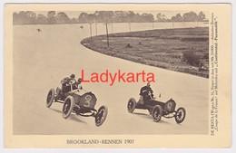 CONTINENTAL- PNEUMATIK -- BROOKLAND RENNEN - DE RESTA  1907 - Automobile - F1