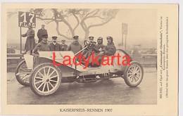 CONTINENTAL - GLEITSCHUTZ - MICHEL AUF OPEL - VIERTER IM KAISERPREIS RENNEN  1907 - Autosport - F1