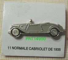 CITROEN TRACTION 11 NORMALE CABRIOLET De 1935 - Citroën