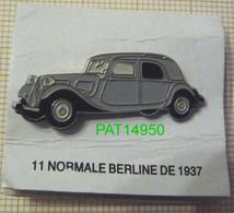 CITROEN TRACTION 11 NORMALE BERLINE De 1937 - Citroën