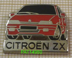 CITROEN ZX ROUGE En Version ZAMAC Base Métallisée - Citroën