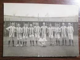 1919 German Officers Football Team POW Camp Park Hall Oswestry England RPPC By Morris Artist,Oswestry - War 1914-18