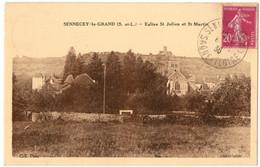 CPA 71 - SENNECEY LE GRAND (Saône Et Loire) - Eglise St Julien Et St Martin - Autres Communes