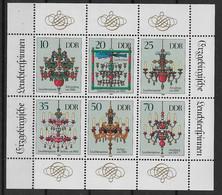 DDR Kleinbogen 3289-3294 ** - Bloques