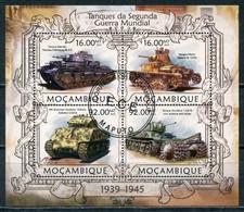 Mozambique 2013 M006 Tanks Of World War II - Militaria