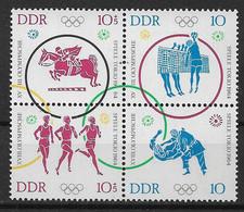 DDR  1040-1044 ** Viererblock - Se-Tenant