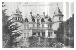 Canet Plage Chateau De Lesparou Cachet Militaire Vaquemestre Dépot Des 24° Et 44° Colonial Perpignan - Cerbere