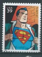 VEREINIGTE STAATEN ETATS UNIS USA 2006 DC Comic Book Super Heroes: Superman 39¢ USED SC 4084a  YV 3841 MI 4136 SG 4626 - Gebraucht