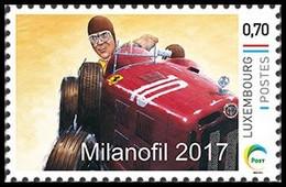 MY STAMP** - Milanofil - Ferrari - Alfa-Roméo - Coches