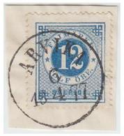 SUEDE -- SVERIGE -  Facit N°  9- Oblitération De ARVIKA  / 18 6/4  77 - Oblitérés