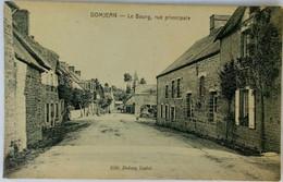 50 Domjean  (Manche) Le Bourg Rue Principale - Andere Gemeenten