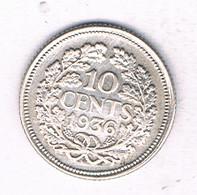 10 CENTS 1936 NEDERLAND /4653/ - 10 Cent