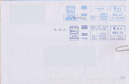 Toshiba Date Seule Sur Courrier Estampillé D'une EMA Les Tirets Sont Remplacés Par Un Point - Sellado Mecánica (Otros)