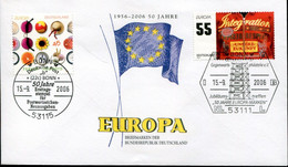 Germany Special Cover  - Europa CEPT Anniversary - 2006