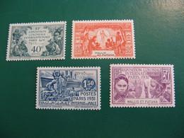 WALLIS POSTE ORDINAIRE N° 66/69 TIMBRES NEUFS* COTE YVERT 48,00 EUROS - Unused Stamps