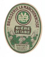 Etiquette De Bière : Brasserie La Marchiennoise, Smeyers, Saint Ouen - Bier