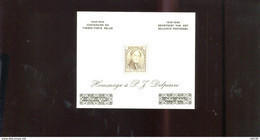 Belgie Erinno E56 OCB 7.5€ RR Medaillon Leopold I Monarchie (kleine Plooitjes) - Commemorative Labels