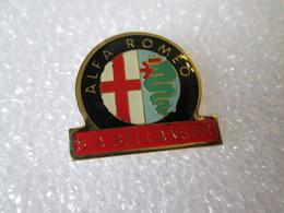 PIN'S    ALFA  ROMEO   SA  BELLANGER - Alfa Romeo