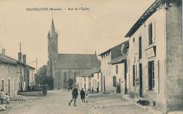 57) GRAVELOTTE : Rue De L'église (EB) - Sonstige Gemeinden