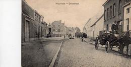 Waarloos Kontich Dorpstraat  Verzonden 1913 - Kontich