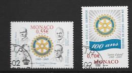MONACO Yv 2479/80 Obli - - Used Stamps