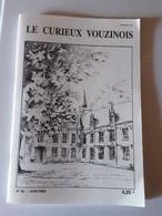 Le Curieux Vouzinois N°63 Juin 2003. Le Canton De Grandpré.  Vitreaux Commemorratifs De La Guerre 14.18 Ardennes 08 - Champagne - Ardenne