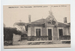 ARCACHON VILLA PISTONNETTE  DUVIGNAC PEINTRE - Arcachon