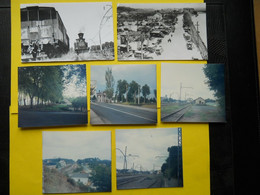 Photo ,TRAMWAY Et Gares Des LANDES , Collection Bourneuf ,lire Descriptif ,Labenne ,Peyrehorade - Treinen