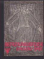 C30 / Drittes Reich /  KZ Dachau 1947 Juden - Guerra 1939-45