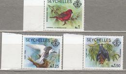 SEYCHELLES 1977 Birds MNH(**) Mi 402-404 #28520 - Non Classés