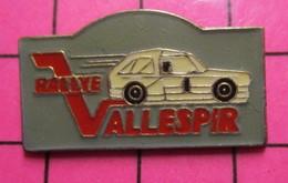 SP18 Pin's Pins / Beau Et Rare / THEME : AUTOMOBILES / RALLYE VALLESPIR - Rallye