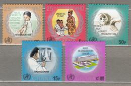 BOTSWANA 1973 WHO Medicine MNH(**) Mi 500-504 #28529 - Botswana (1966-...)