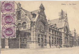CINEY / LA GARE  1924 - Ciney