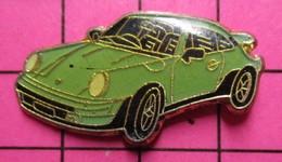 "SP18 Pin's Pins / Beau Et Rare / THEME : AUTOMOBILES / PORSCHE 911 ""DUCK EGG BLUE"" - Porsche"