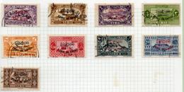 37CRT1098 - SYRIA SIRIA 1936, Serie Yvert N. 239A/K  Usata . DAMAS - Used Stamps