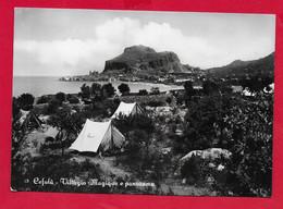 CARTOLINA VG ITALIA - CEFALU' - Villaggio Magique E Panorama - 10 X 15 - 1958 - Palermo