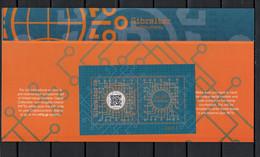 Gibraltar 2021 Crypto Stamp In Presentation Pack MNH - Gibraltar