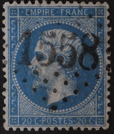 22a Obl GC 1558 Fouday (67 Bas Rhin ) Ind 11 ; Frappe Très Nette & TB Centrée - 1849-1876: Classic Period