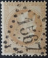 29B (cote 8 €) Obl GC 1567 Fourmies (57 Nord ) Ind 3 ; Frappe Nette & Centrée - 1849-1876: Classic Period