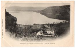 CPA 39 - Environs De LONS LE SAUNIER (Jura) - Lac De Chalain - Dos Simple - Altri Comuni