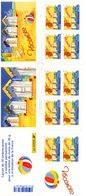 France. Carnet 10 Timbres Autoadhesifs .bc 3788.vacances.annee 2005. N**non Plié. - Stamp Day