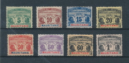 MAURITANIE 1906 - Timbres-taxes N° YT 9/16* Neufs Avec Charnières - Cote 100€ - Nuovi