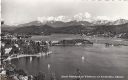 5539) PÖRTSCHACH Am Wörthersee Mit Karawanken ALT !! Segelboote Häuser Usw. ALT - Pörtschach
